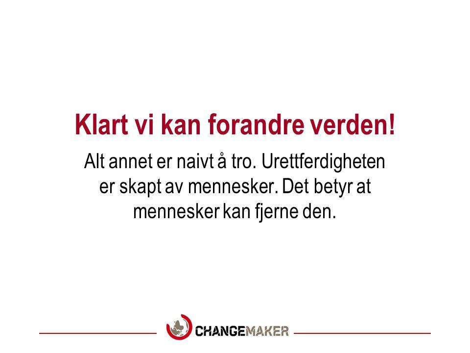 Bli medlem i Changemaker!