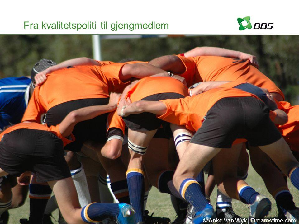 Fra kvalitetspoliti til gjengmedlem © Anke Van Wyk | Dreamstime.com