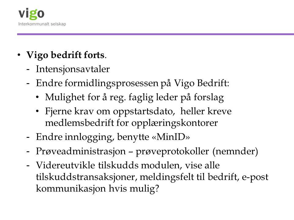 Vigo bedrift forts.