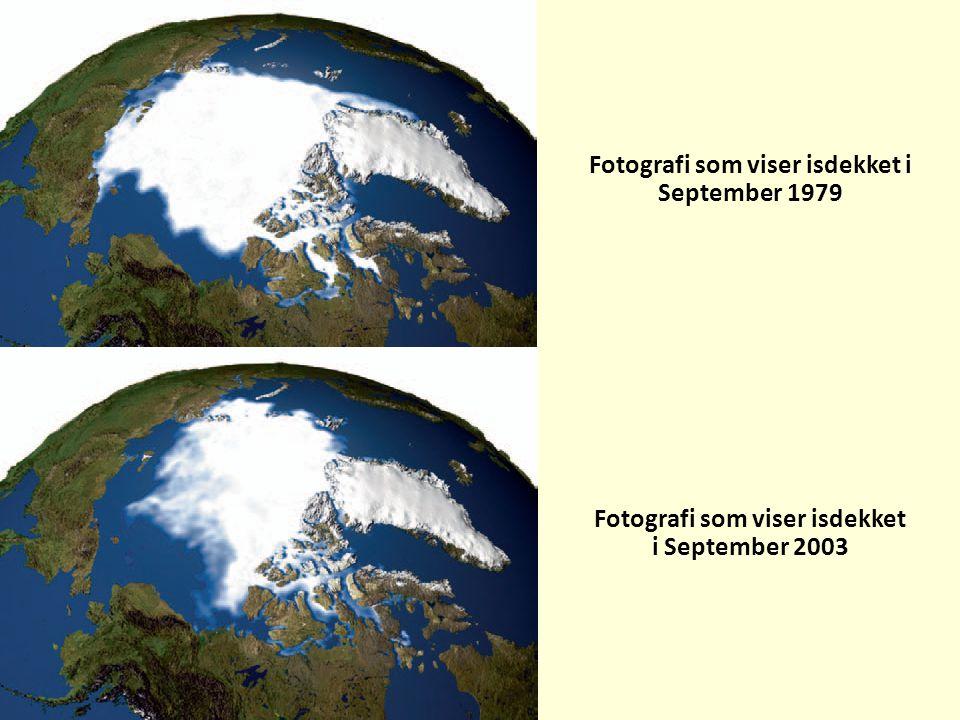 Fotografi som viser isdekket i September 1979 Fotografi som viser isdekket i September 2003