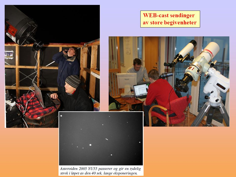 Mye moro, litt alvor (250-1250 vitenskapelig nyttige observasjoner av variable stjerner hvert år avhengig av værforholdene)0 Lyskurve for supernova SN 2011fe fra American Association of Variable Star Observers med 7 observasjoner fra BXT = Terje Bjerkgård (TAF) SN 2011fe Messier 101 ca.