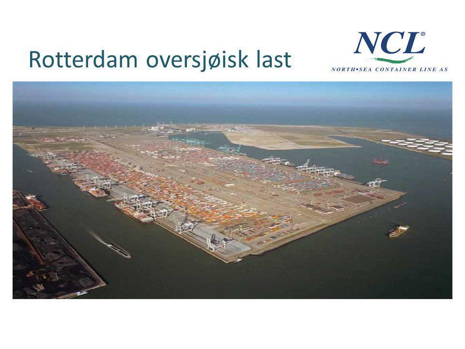 Rotterdam oversjøisk last