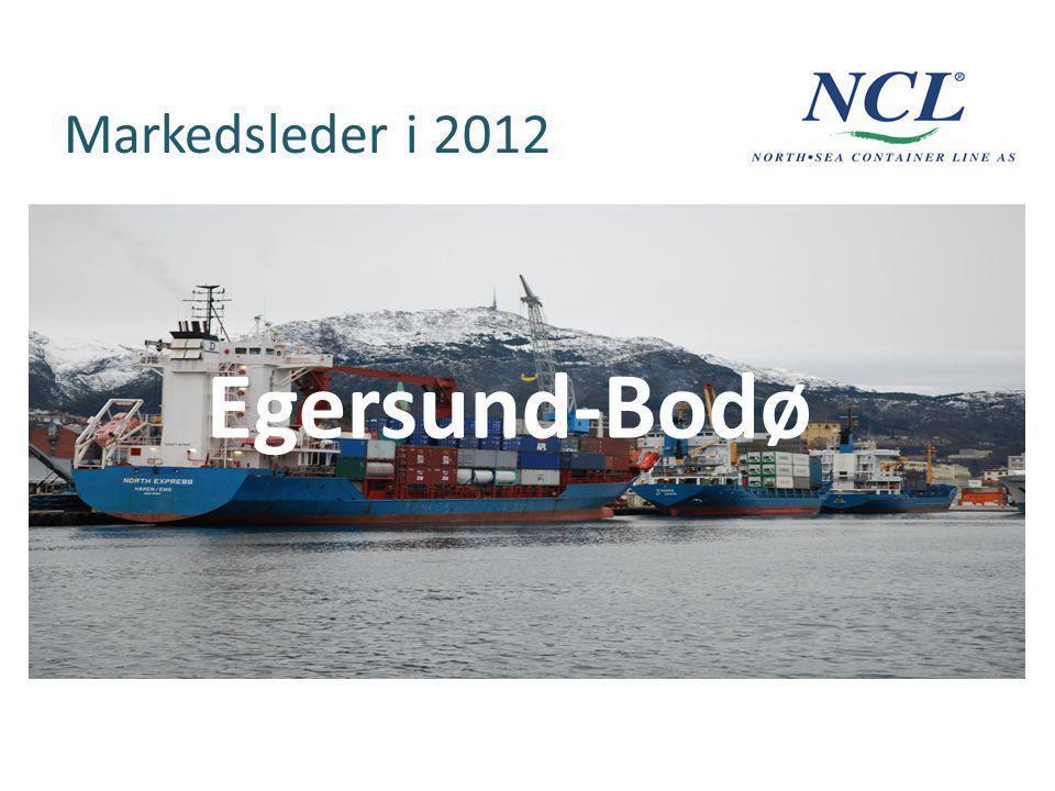 Markedsleder i 2012 Egersund-Bodø
