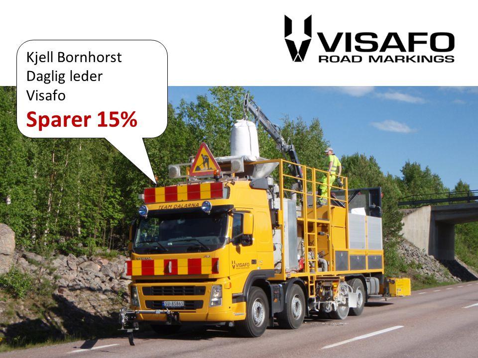 48% av importvolumet er overført fra bil til sjø Marianne Steenstrup: Hadde vi vist om det hadde vi gjort det for lenge siden!