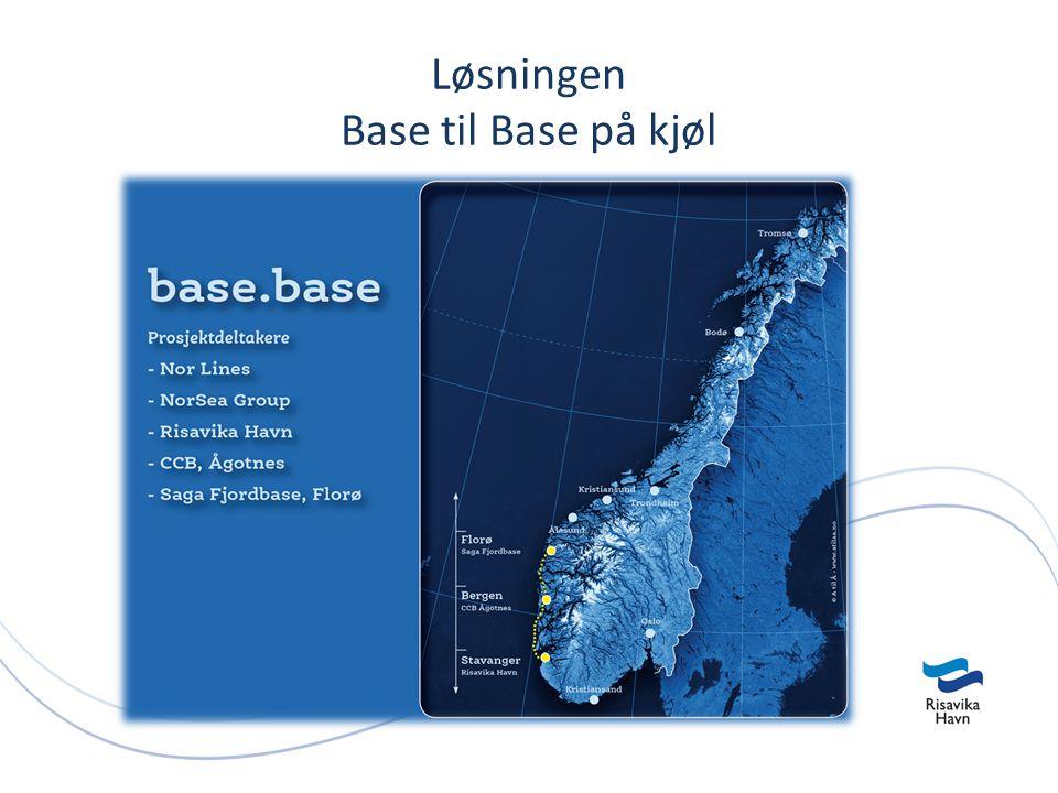 Løsningen Base til Base på kjøl