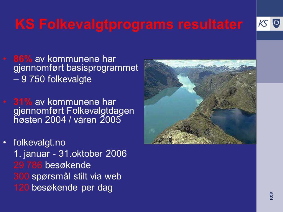 KS Folkevalgtprogram 2007-11 Thomas Scheen, rådgiver KS
