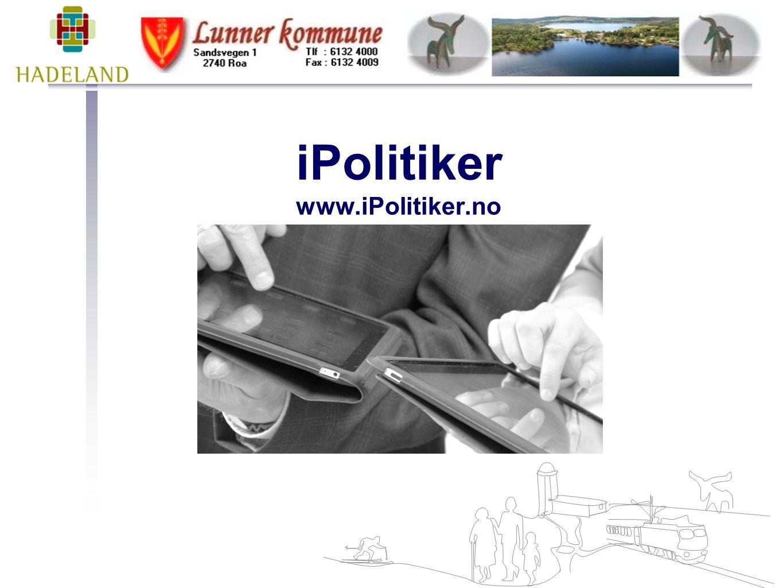 iPolitiker www.iPolitiker.no