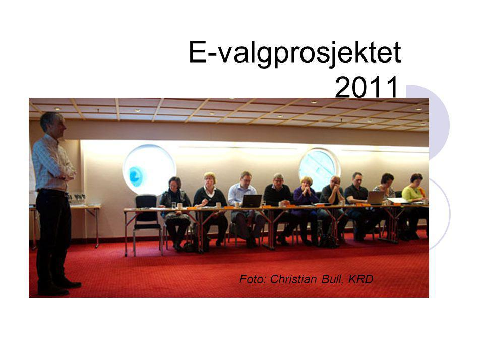 E-valgprosjektet 2011 Foto: Christian Bull, KRD
