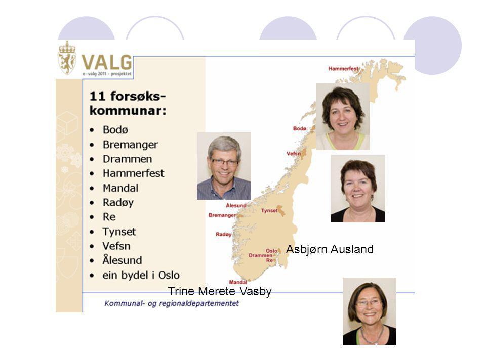 Asbjørn Ausland Trine Merete Vasby