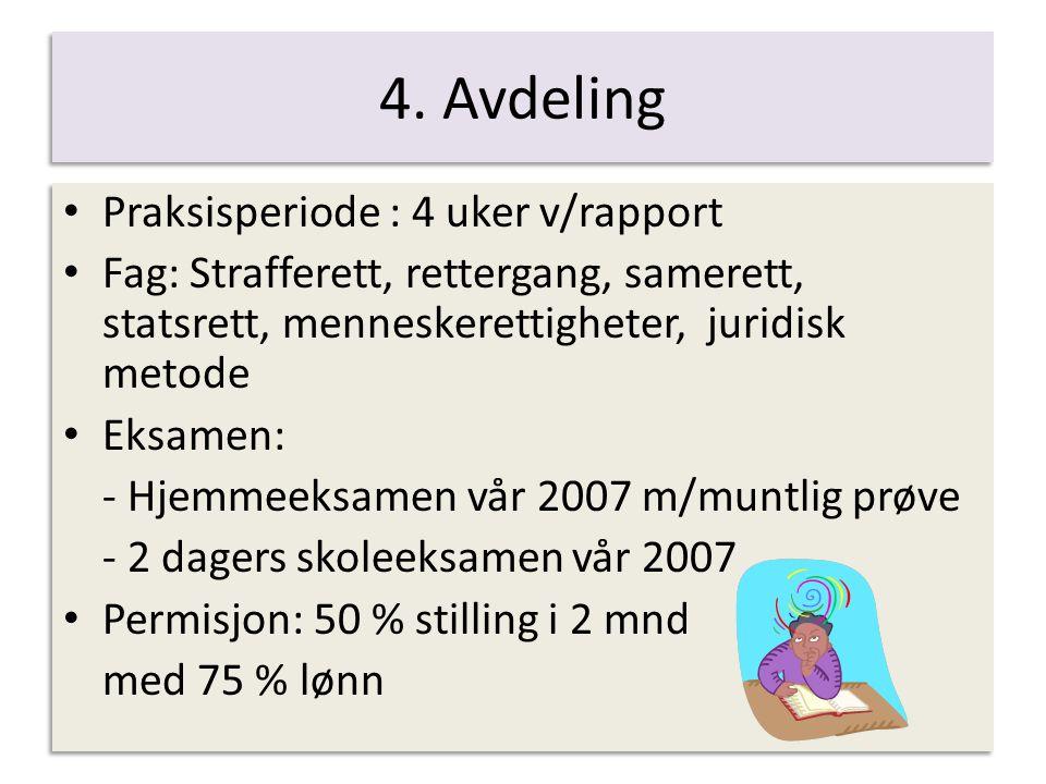 5.avdeling 1. valgfag: forvaltningsrett Masteroppgave – 30 sp.