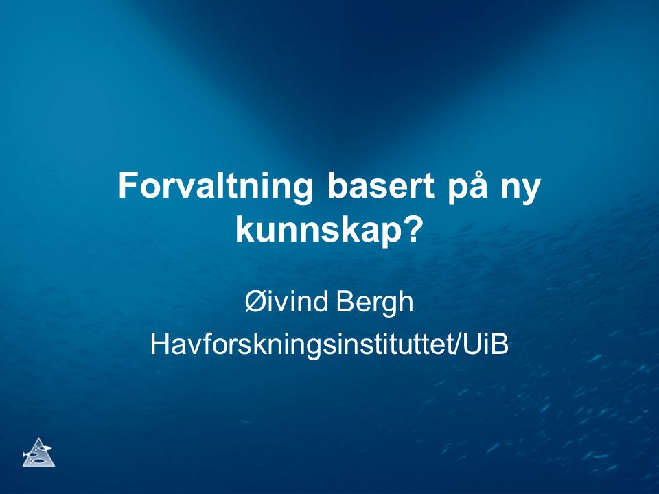 ▶ Mange fagfelt innen akvakultur POPULASJONSGENETIKK genetisk karakterisering av vill og oppdrettet fisk MARIN GENOMFORSKNING sammensetning og funksjon til arvestoffet i marine arter VEKST- OG REPRODUKSJONSFYSIOLOGI hvordan miljøet påvirker vekst og kjønnsmodning hos fisk FISKEVELFERD OG OPPDRETTSMILJØ forebygging av stress, smerte og sykdom FISKEHELSE OG SYKDOM spredning av sykdom og forebyggende behandling FÔR, FÔRING OG KVALITET opptak og utnyttelse av næringsstoff i fôr