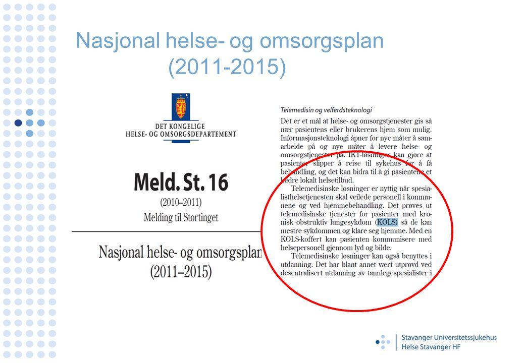 Nasjonal helse- og omsorgsplan (2011-2015)