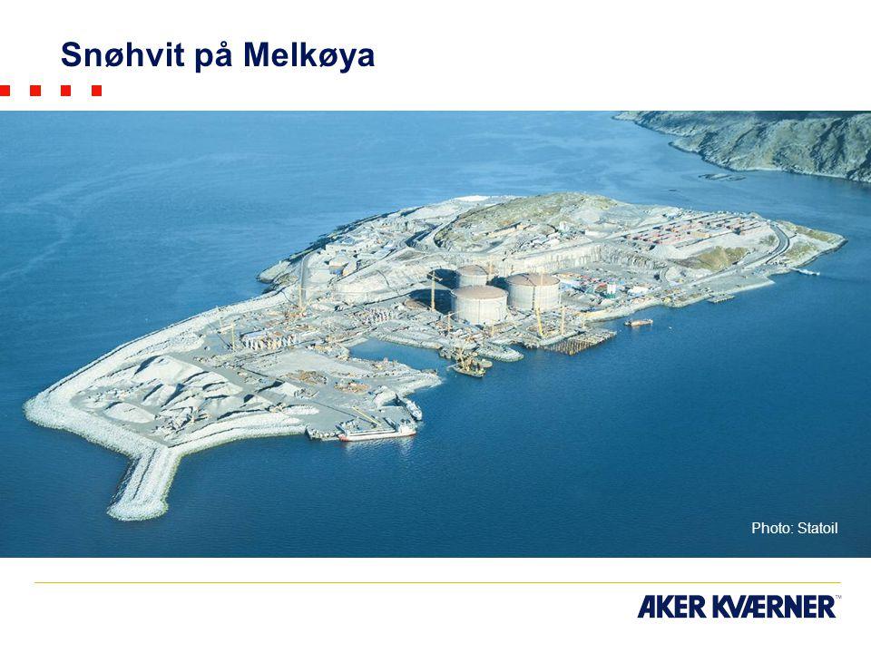 Snøhvit på Melkøya Photo: Statoil