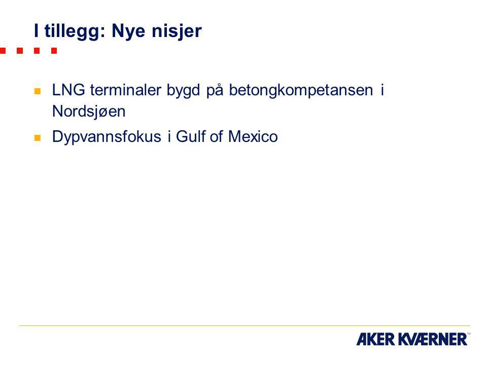 I tillegg: Nye nisjer LNG terminaler bygd på betongkompetansen i Nordsjøen Dypvannsfokus i Gulf of Mexico