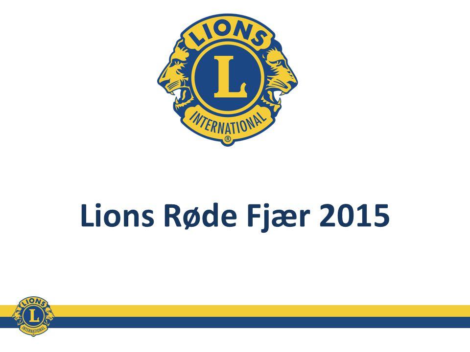 Lions Røde Fjær 2015