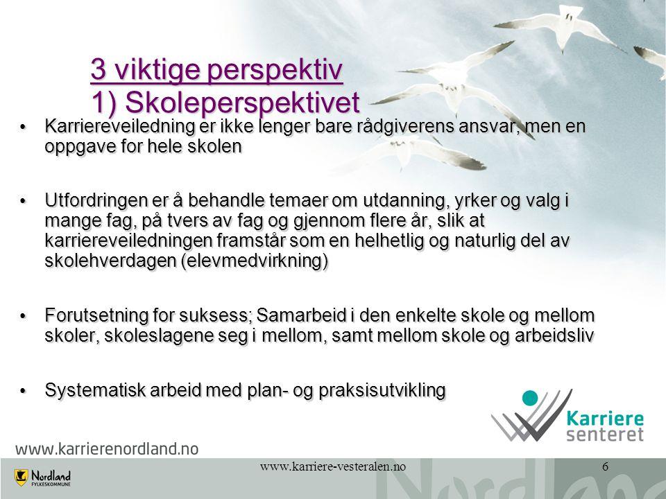 www.karriere-vesteralen.no7 2.