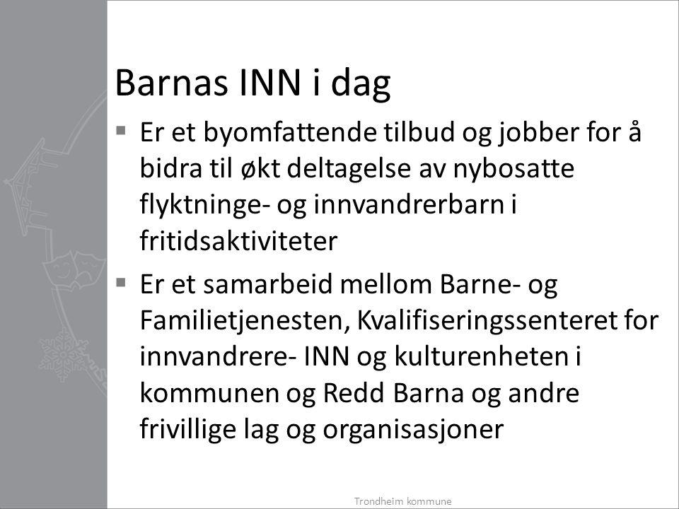 Barne- og Familietjenesten  Barne- og Familietjenesten i Trondheim kommune er delt inn i fire bydeler.