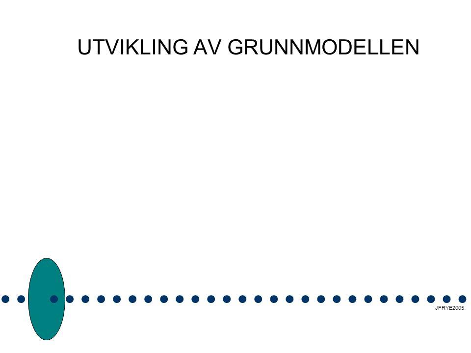 UTVIKLING AV GRUNNMODELLEN JFRYE2005