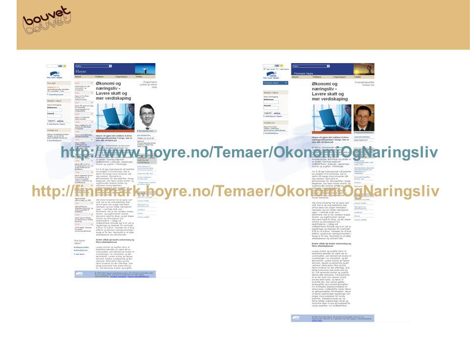 http://www.hoyre.no/Temaer/OkonomiOgNaringsliv http://finnmark.hoyre.no/Temaer/OkonomiOgNaringsliv