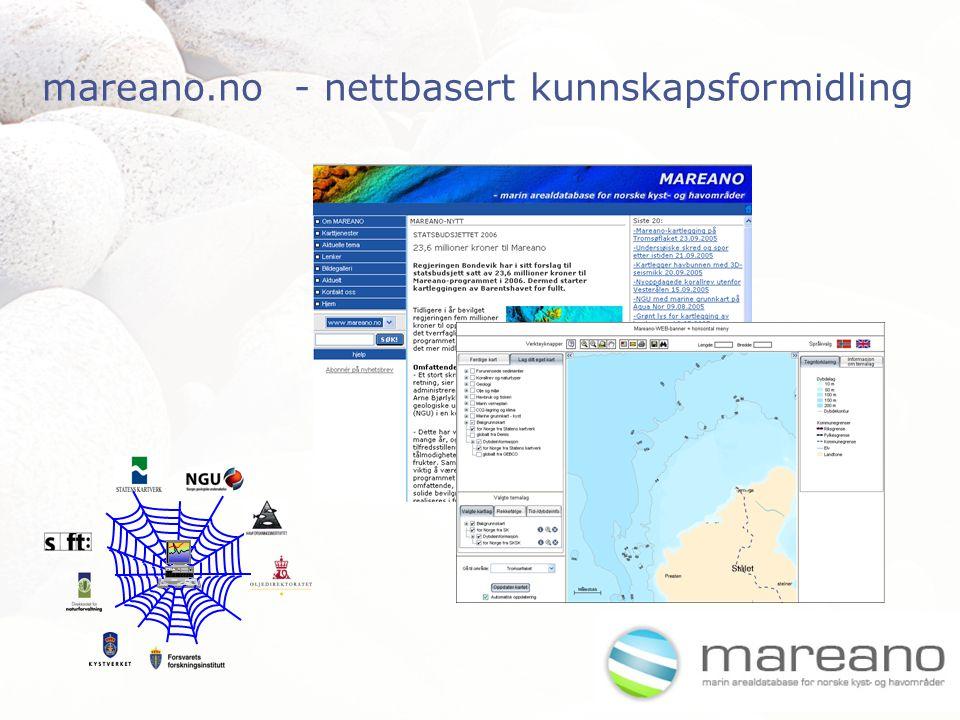 mareano.no - nettbasert kunnskapsformidling