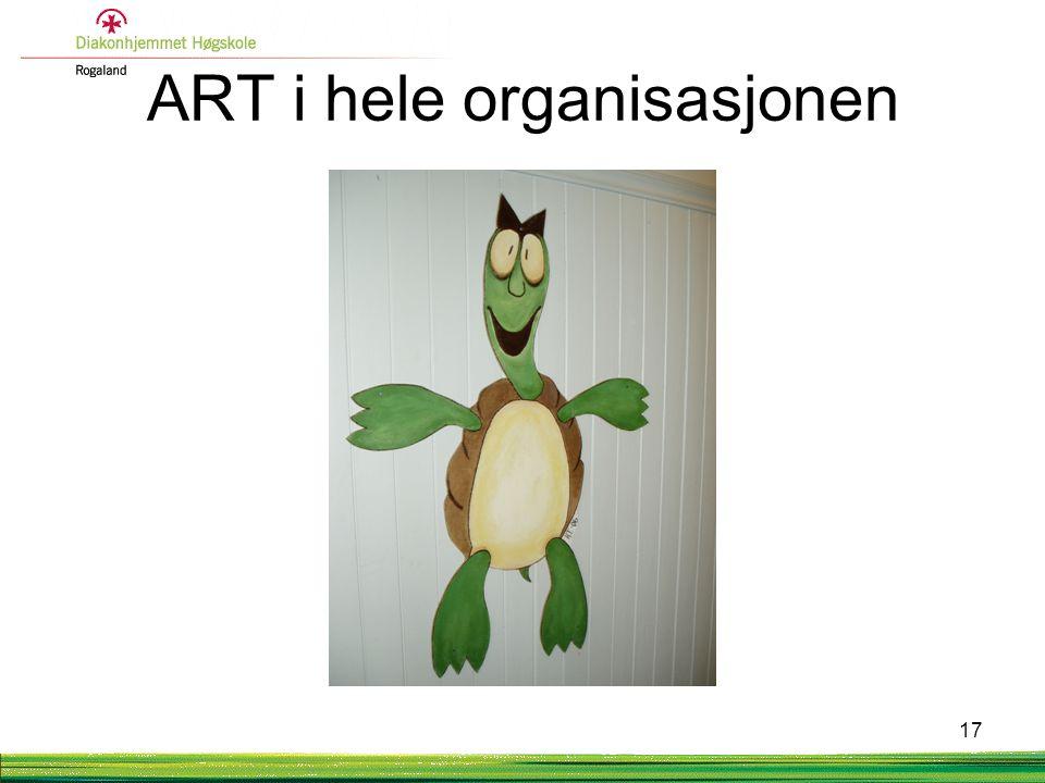 ART i hele organisasjonen 17