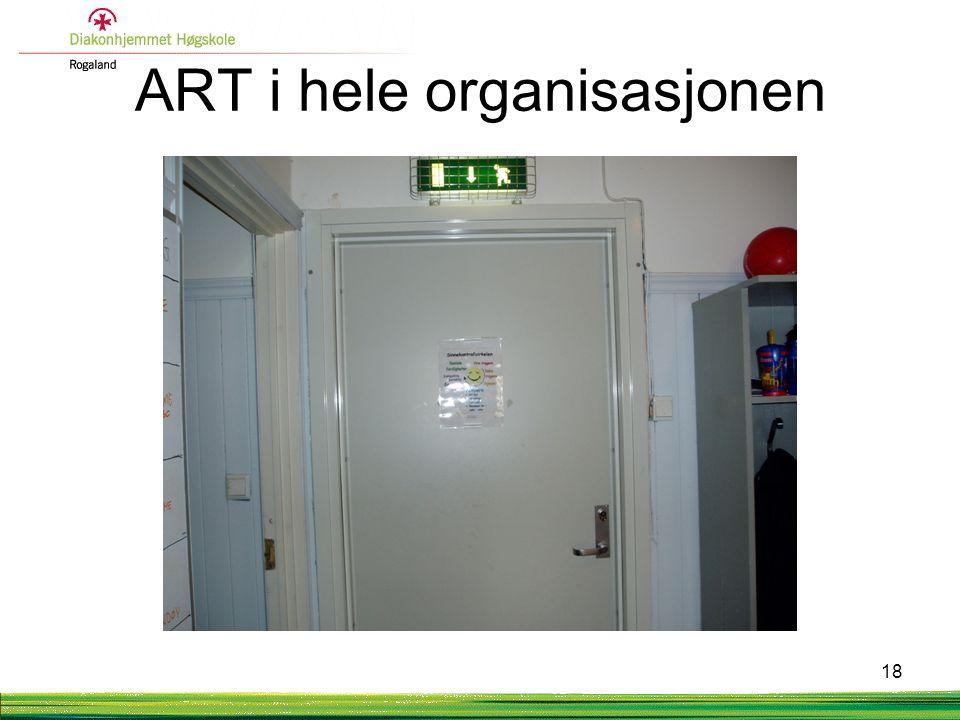ART i hele organisasjonen 18