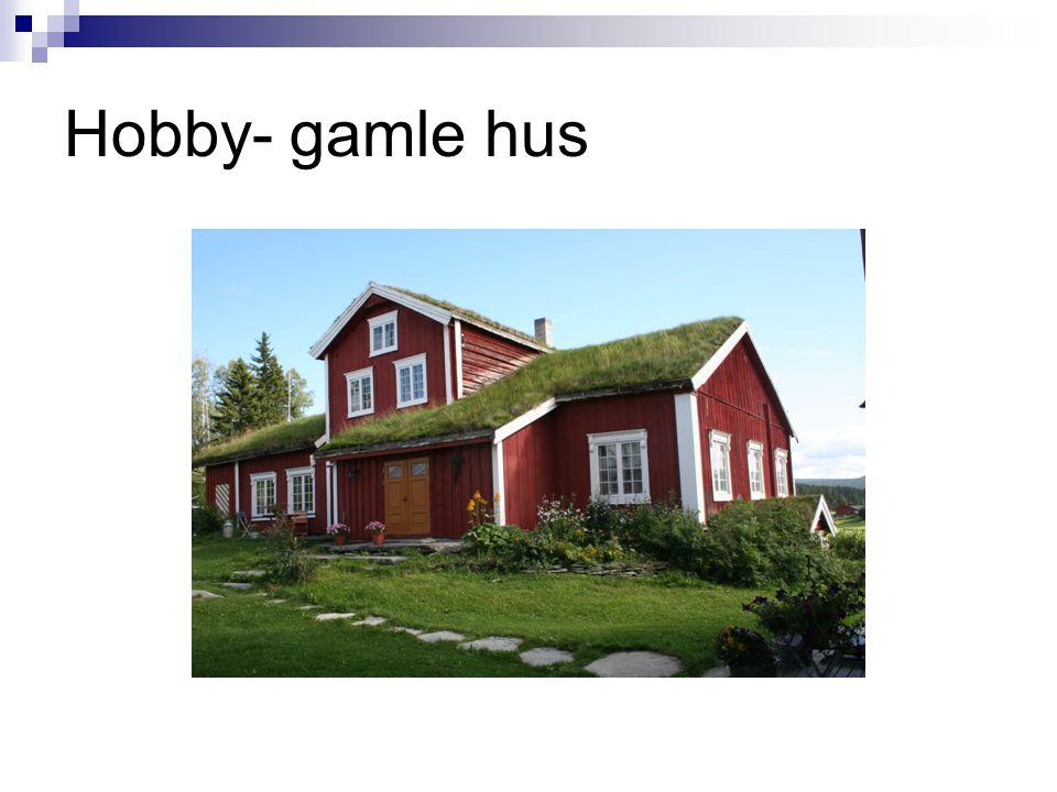 Hobby- gamle hus