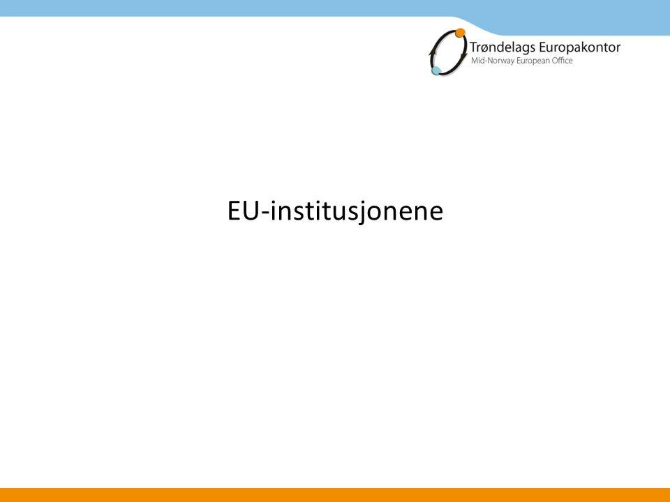 Regionale og lokale myndigheter Næringsliv FoU Europakontoret har blitt et bredt samarbeid for internasjonalisering i Trøndelag mellom privat sektor, FoU- institusjoner og offentlig sektor i regionen.