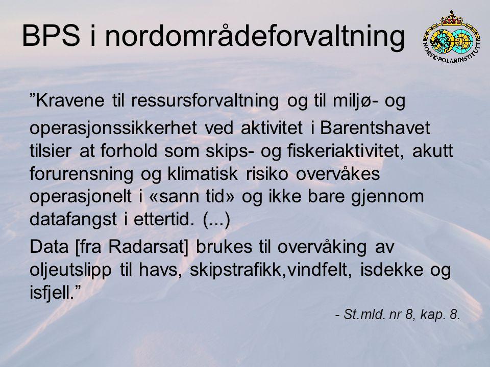 FP: Overvåkingsbehov Havklima Isdekke, vanntransport, CTD m.m.