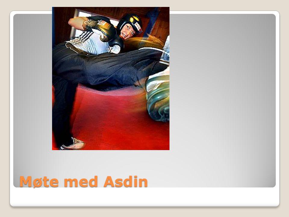 Møte med Asdin