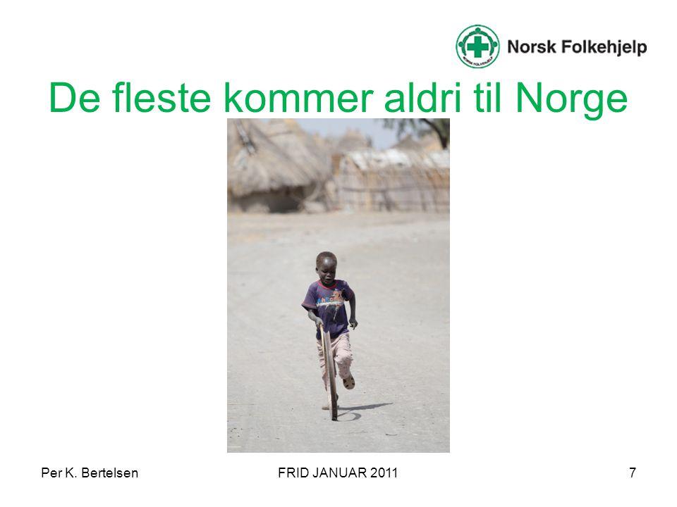 Per K. BertelsenFRID JANUAR 201118 Majoritet/Minoritet SegregeringIntegreringAssimilering