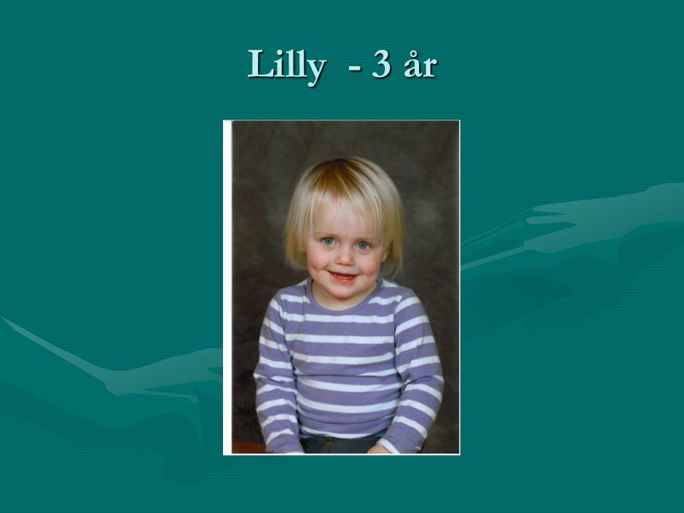 Lilly - 3 år
