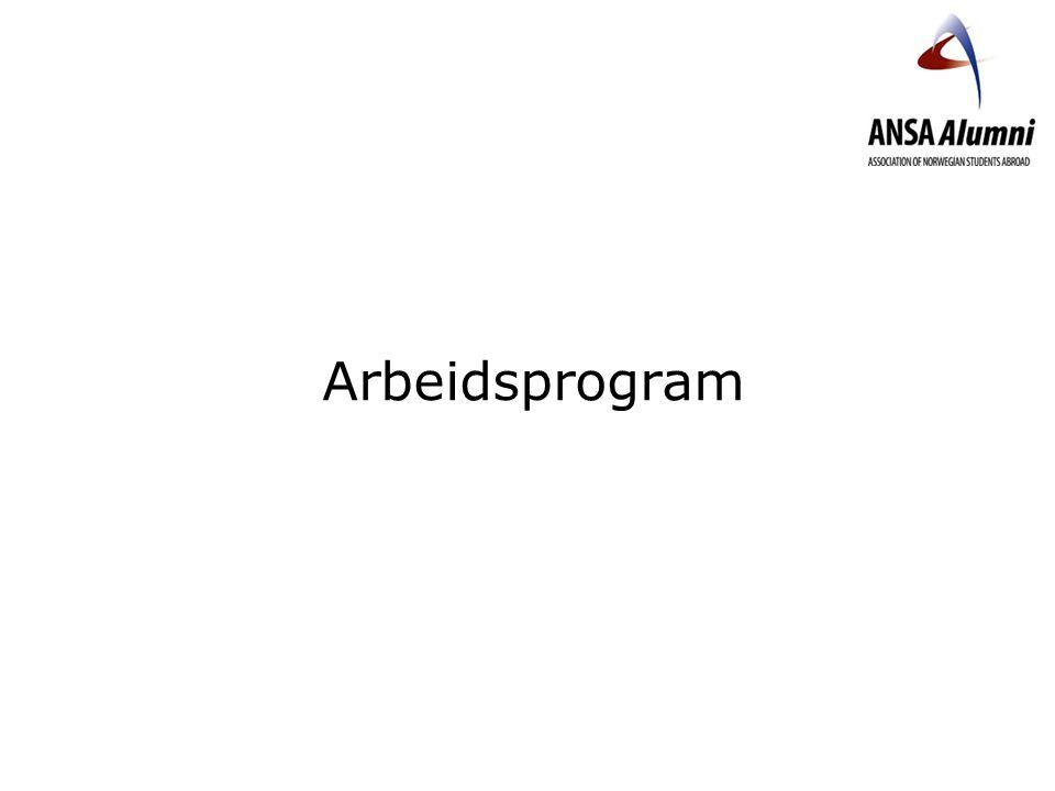 Arbeidsprogram