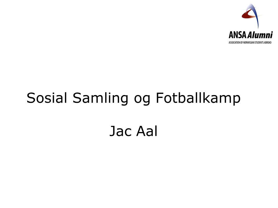 Sosial Samling og Fotballkamp Jac Aal