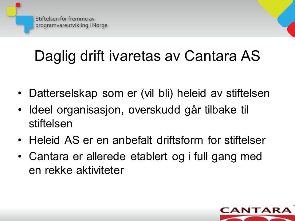 Cantara trår til som juridisk enhet, økonomifunksjon og som aktiv sparringspartner for Smidig-konferansen Med denne avtalen kan vi smidig-entusiaster fokusere på engasjement og innhold.