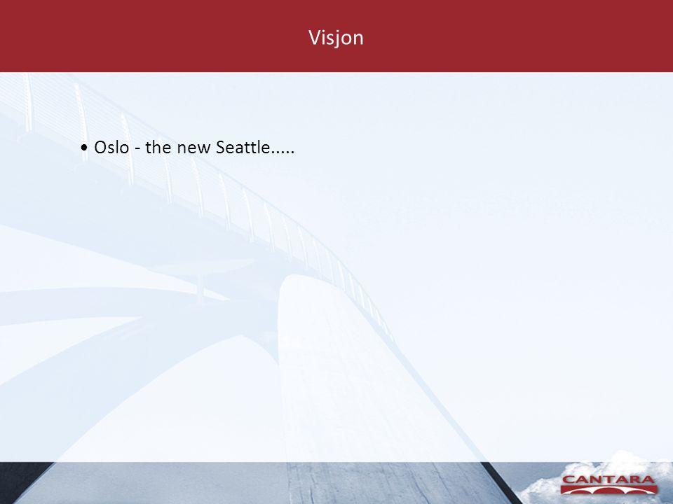 Visjon Oslo - the new Seattle.....
