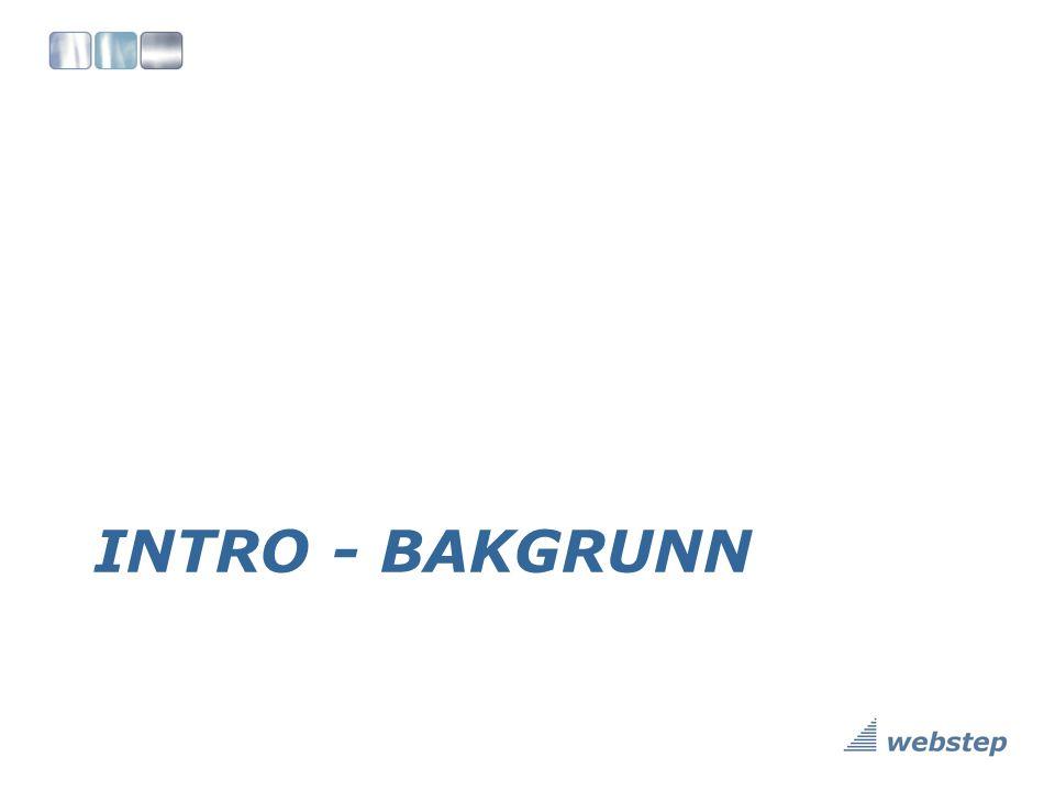 INTRO - BAKGRUNN