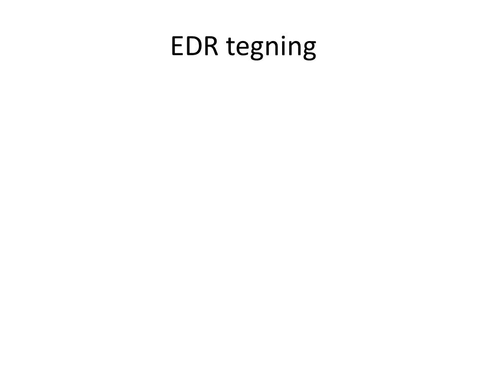 EDR tegning