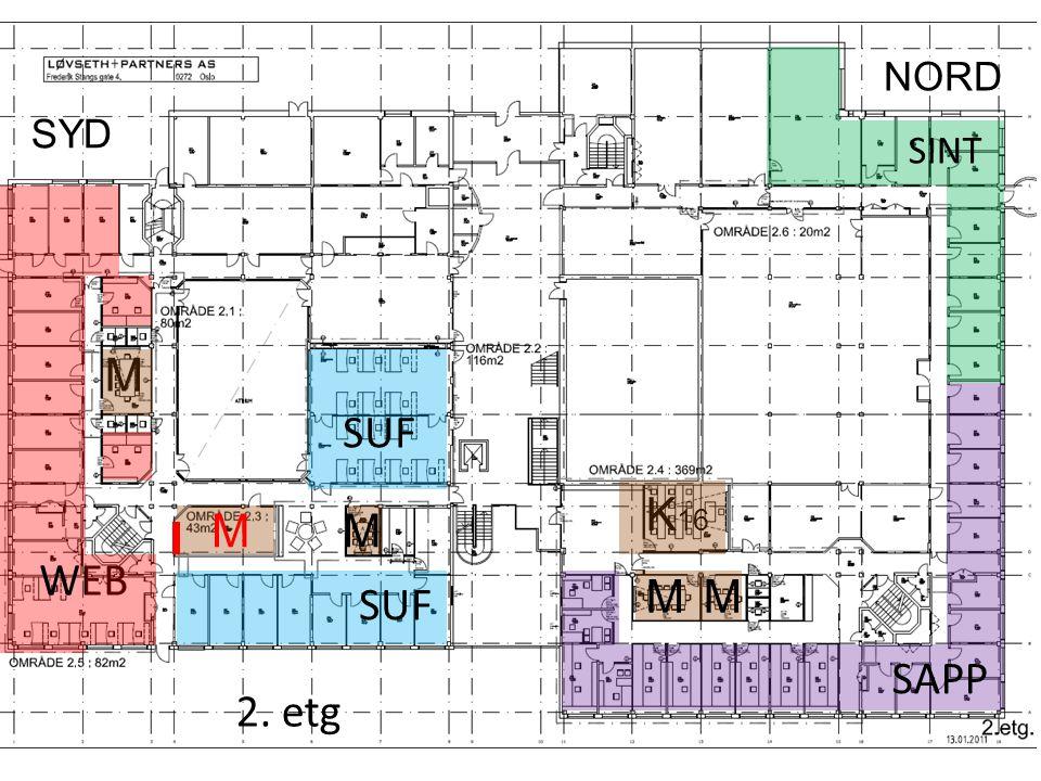 SPLO Konsulenter o.l. M M 1. etg SYD NORD