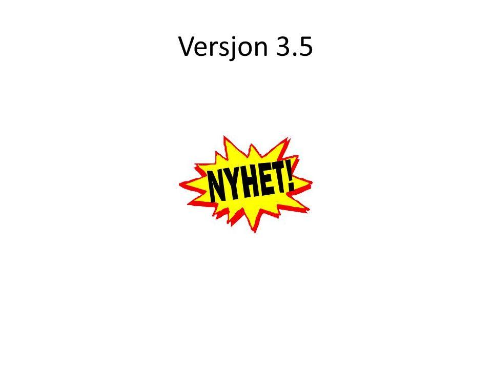 Versjon 3.5