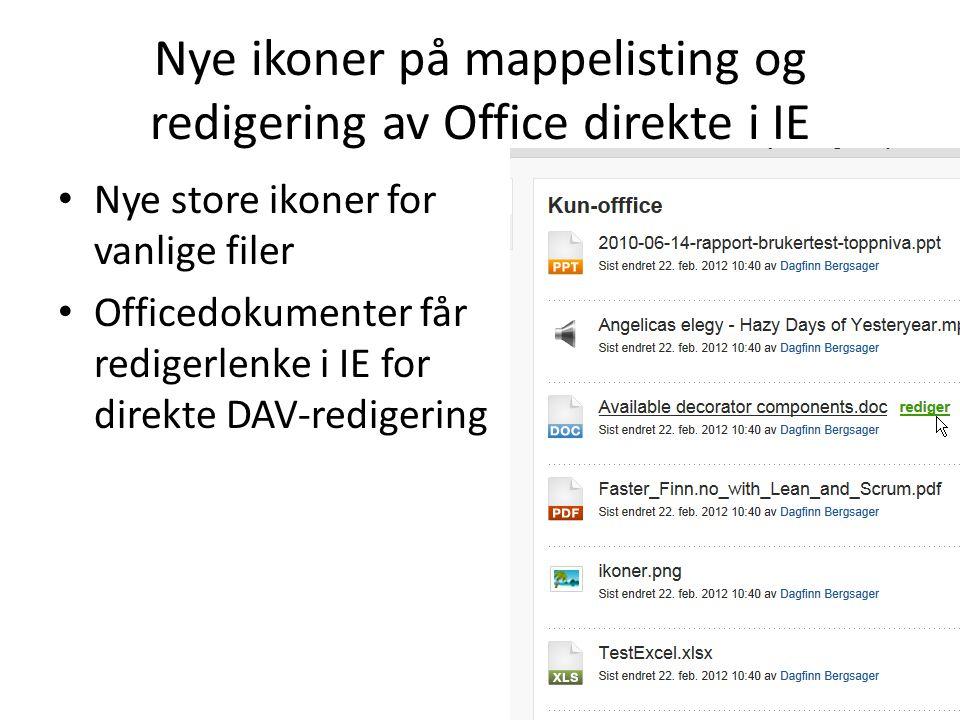 Lagreknapp alltid tilgjengelig Gjelder også fullskjermredigering Ajax-lagring slik at du beholder plassering