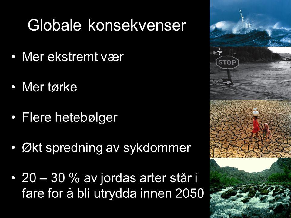 Klimamål 19. april 2007 satt regjeringen nye offensive miljømål. Smeltedam midt på Grønnlandsisen