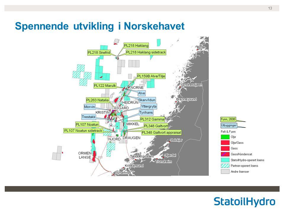 13 Spennende utvikling i Norskehavet