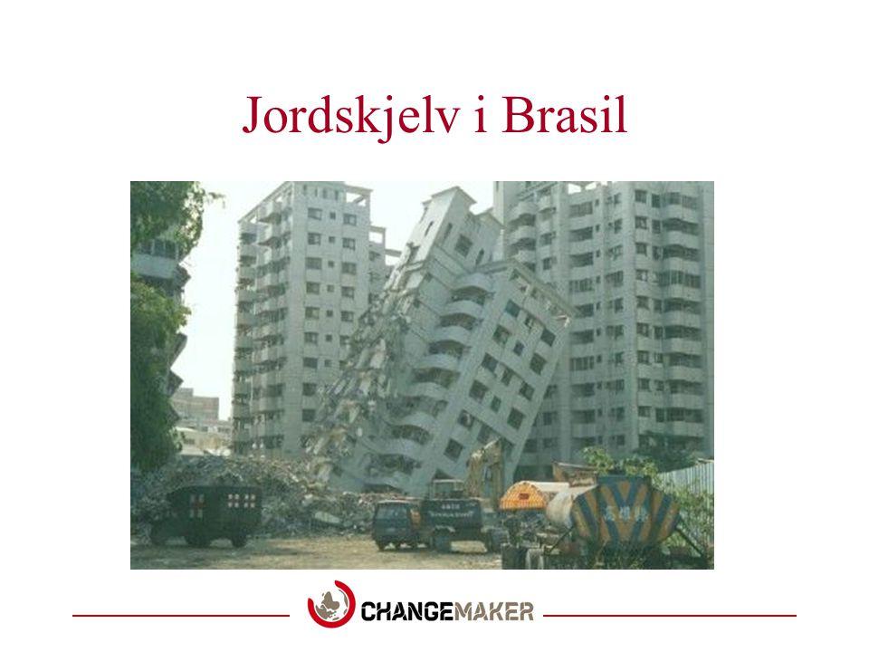 Jordskjelv i Brasil