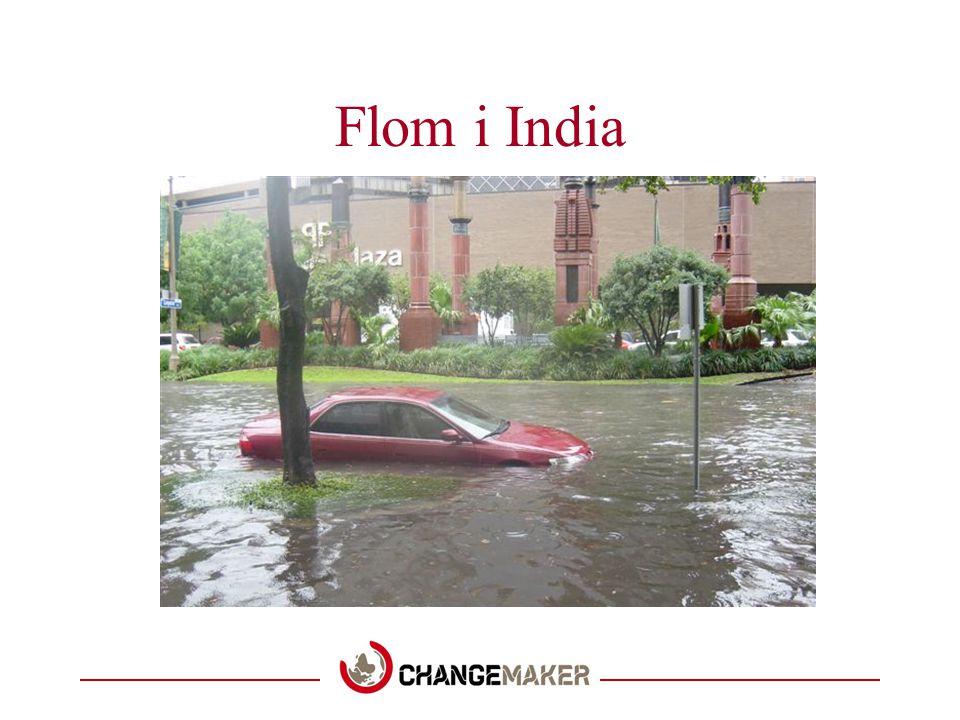 Flom i India