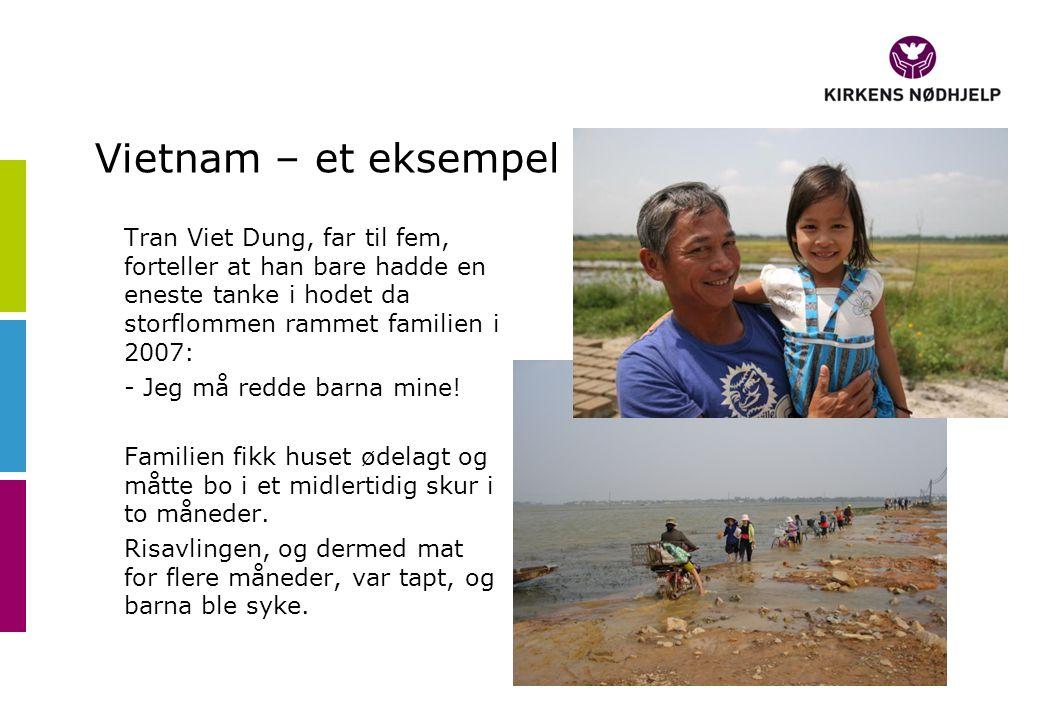 Familien Tran fikk hjelp til å bygge nytt, sikkert hus.