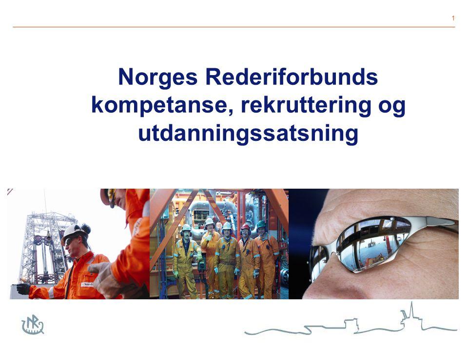 1 Norges Rederiforbunds kompetanse, rekruttering og utdanningssatsning