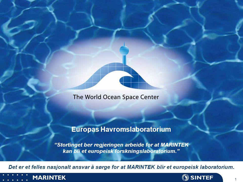 MARINTEK 2 Ocean Space Center Et tankeeksperiment