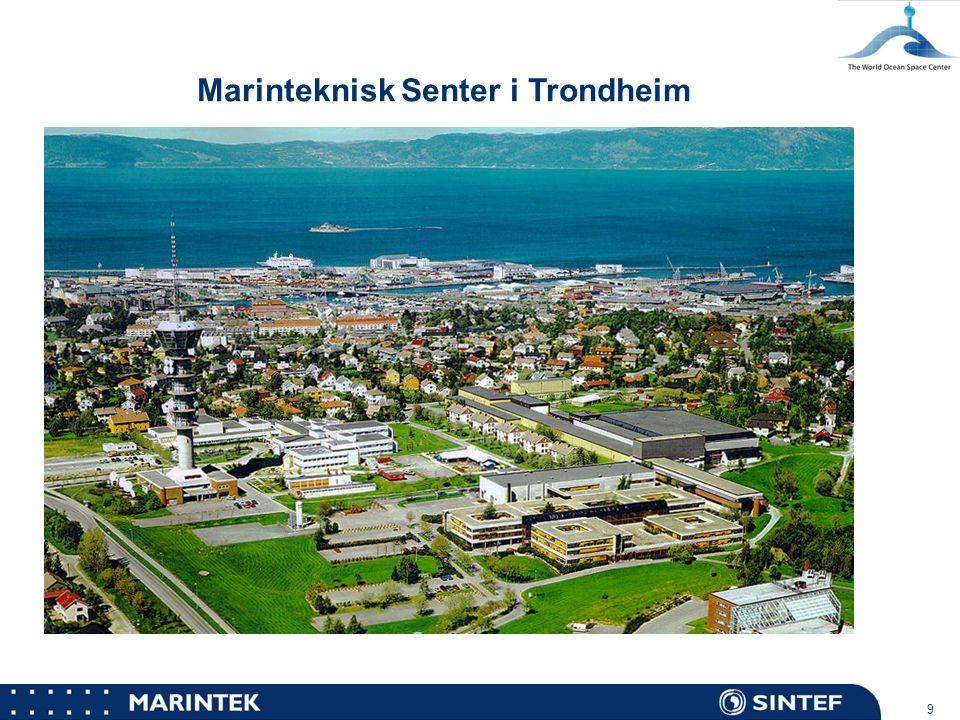 MARINTEK 10 Havbassenget – Marinteknisk Senter