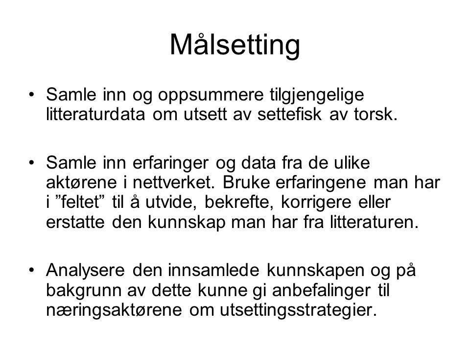 Biomasse ved 1,2 og 3 utsett torsk, Laksefjord